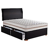 Hush Lisbon King 4 Drawer Divan Bed