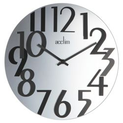 Acctim Mirrored Face Wall Clock