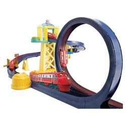 Chuggington Training Yard Playset with Loop & Wilson