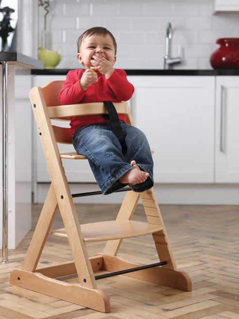 Obaby Megan Highchair, Natural
