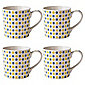 Johnson Brothers Set of 4 Repeat Daisy Mugs