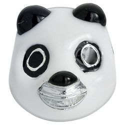 Truth Sterling Silver Panda Head Charm