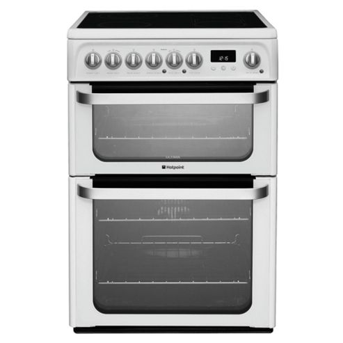 Hotpoint HUE61P White Electric Cooker