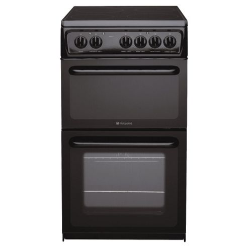 Hotpoint HAE51K Black Electric Cooker
