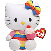 Hello Kitty Small Beanie Baby Soft Toy - Assortment – Colours & Styles May Vary