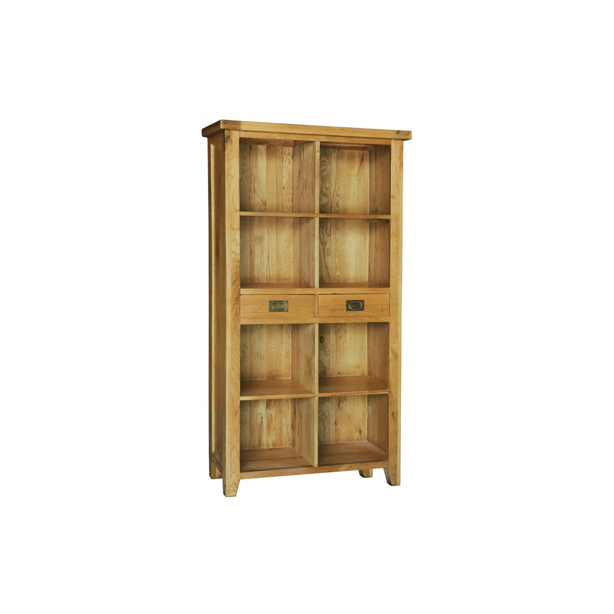 Hawkshead Calgary Bookcase with 2 Drawers at Tesco Direct
