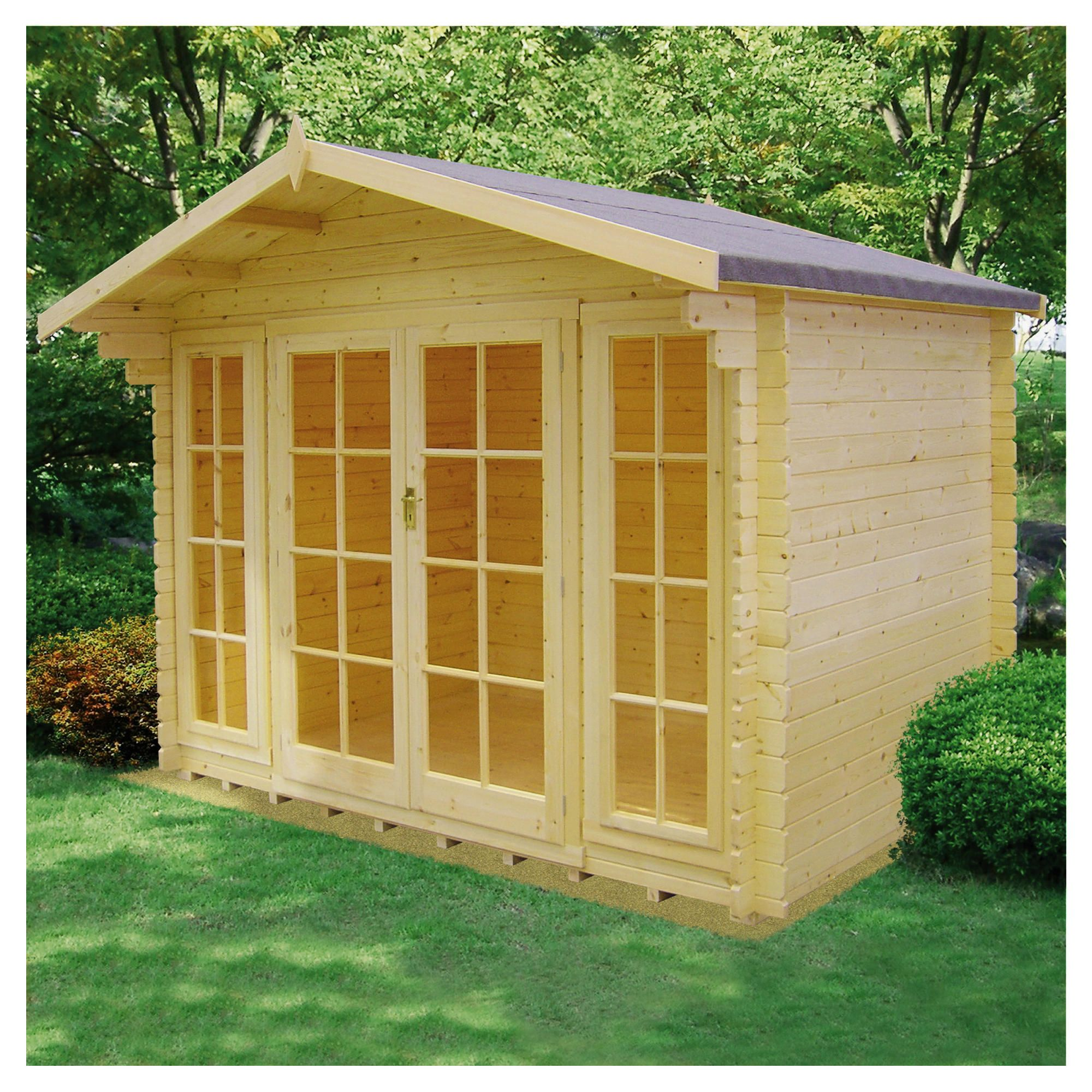 Finewood Epping Cabin at Tescos Direct