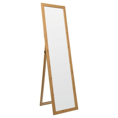 Basic Cheval Mirror - Oak Effect