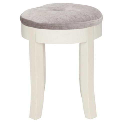 Lille Dressing Table Stool, Ivory