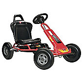 Ferbedo Tourer T-1 Ride-On Go Kart, Red