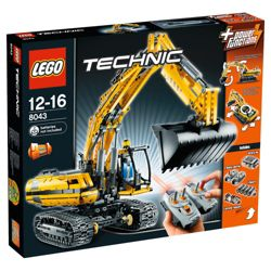 LEGO Technic Motorized Excavator 8043