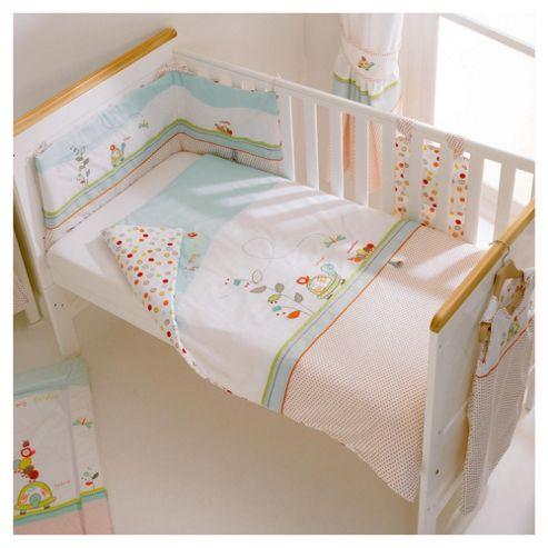 East Coast In My Garden Cot Bed Quilt