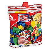 Mega Bloks Bag 70 Piece Primary Colours