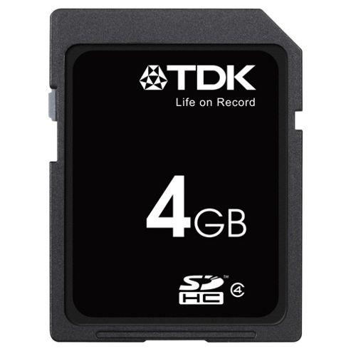 TDK SDHC memory card Class 4 - 4GB