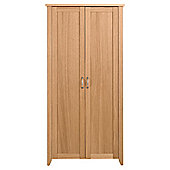 Harrogate 2 Door Wardrobe, Oak Effect
