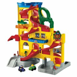 Fisher-Price Little People Wheelies Stand 'n' Play Rampway Playset