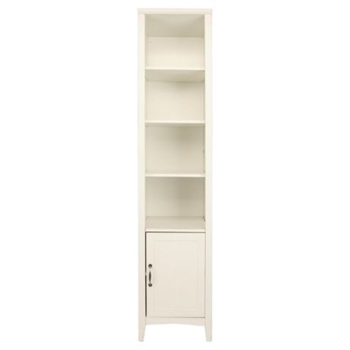 Stockholm 1 Door 3 Shelf Unit, White