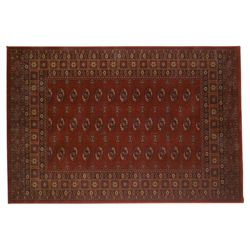 Tesco Rugs Bokhara Rug Red 133x195cm