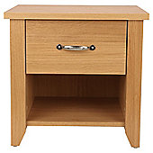 Harrogate Bedside Chest, Oak Veneer