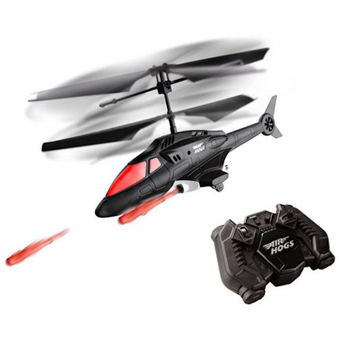 Spin Master Air Hogs Sharp Shooter Radio Controlled Missile Launching Helicopter