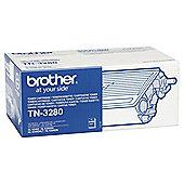 Brother TN3280 Laser Toner Cartridge - Black