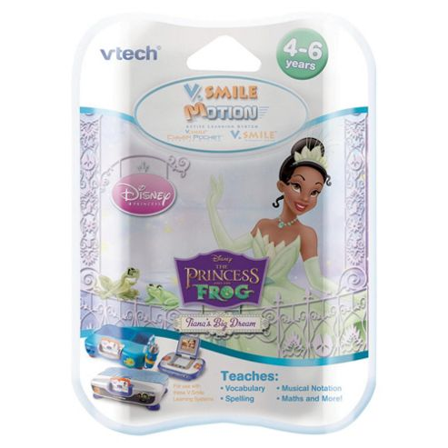 VTech V.Smile Motion Software Princess & The Frog