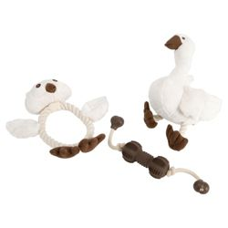 Rosewood dog toy set