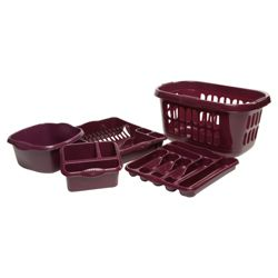 Whatmore Kitchen Set, Plum