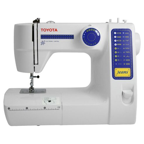 Toyota JFS18 Electronic Sewing Machine - White