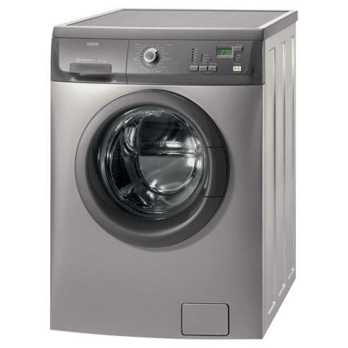 Zanussi ZWF14380G washing machine, 7 kg Load, C Energy Rating. Graphite