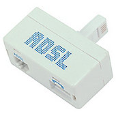 Tesco ADSL Filter TADSLSS10 White