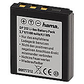 Hama Li-Ion Battery DP 312 for Rollei (Equivalent to Rollei 8300/Rollei DS8330-1 battery)