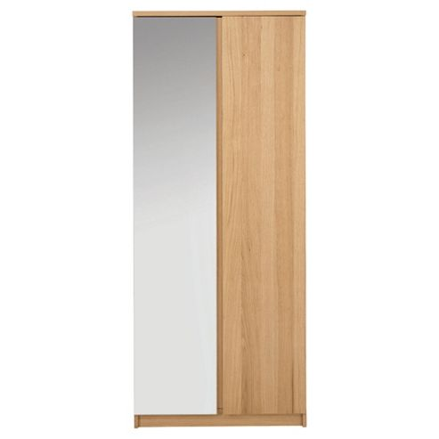 Maddox Double Wardrobe, Oak Veneer