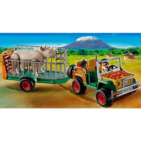 Playmobil Rangers Car with Rhino