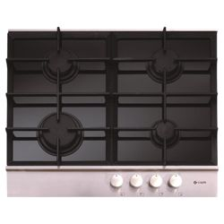 Caple Sense C739G Black Glass Gas Hob