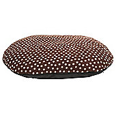 Fleece pillow pet bed large