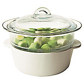 Pyroflam Casserole Dish With Steamer