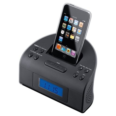 Tesco CR111IP iPod Clock Radio Black
