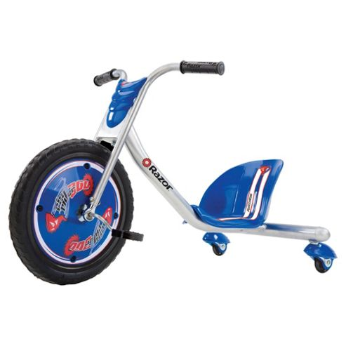 Razor Riprider 3-Wheel Scooter, Silver/Blue