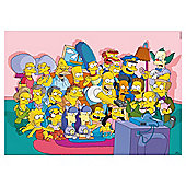 Simpsons At Home 750 piece puzzle
