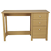 Milton Desk, Oak Effect Finish