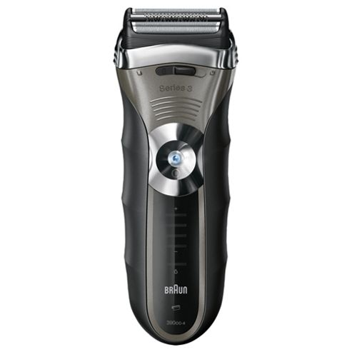 Braun Series 3 390cc-4 Foil Electric Shaver with cleaning centre