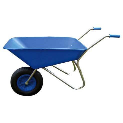 Bullbarrow Picador Plastic Wheelbarrow - Blue