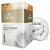 Fogarty Siberian Down Single Duvet 10.5 Tog