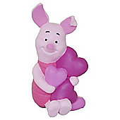 Winnie The Pooh Piglet With Hearts Figurine 12326