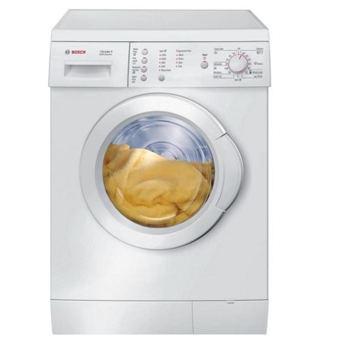 Bosch WAE24165GB Washing Machine, 6kg Wash Load, 1200 RPM Spin, A Energy Rating. White