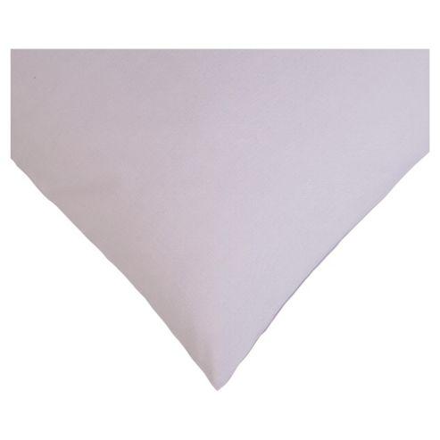 Tesco Twin Pack Pillowcase, Lilac