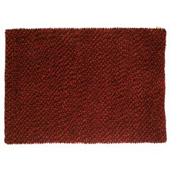 Tesco Rugs Felted Wool Rug 120x170cm Berry