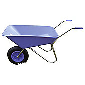 Threeway Bull Barrow Picador Plastic Wheelbarrow - Purple
