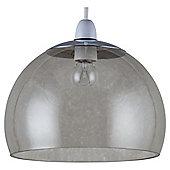 Tesco Lighting Bobble Glass Pendant Smoky